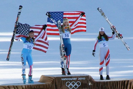640px-2010_Winter_Olympic_-_Womens_downhill_medals